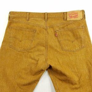 Levi Strauss Levis 501 White Oak Cone Denim Jeans